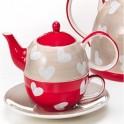 Tetera Tea-for-One CORAZÓN...