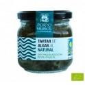 Tartar de algas al natural...